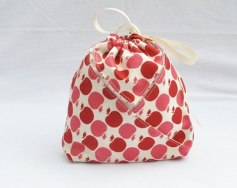 Origami Gift Bag - First Day of School Apples