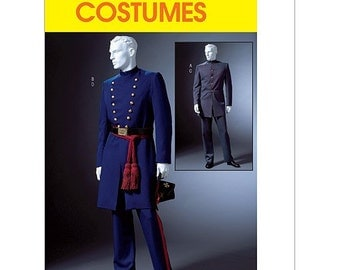 Uncut Adult McCalls Civil War Costume Pattern 4745 XL - XXXL
