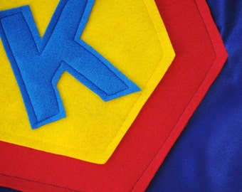 Kids Personalized Superhero Cape- Ages 5 to 7 years