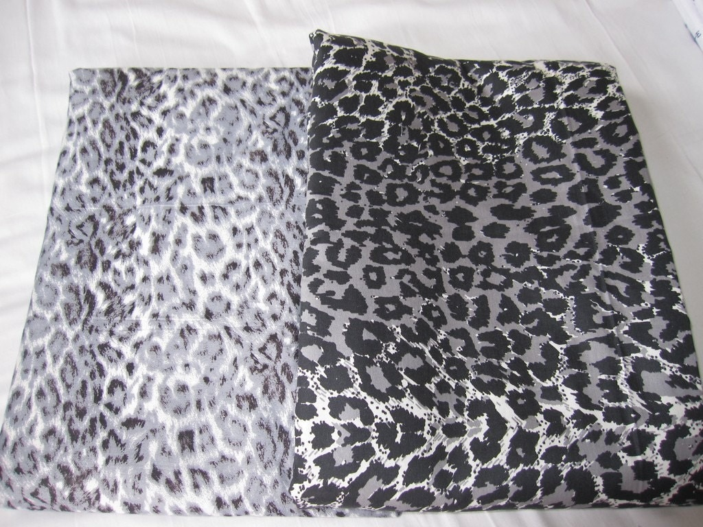 Leopard Print Duvet Cover King Queen Or Twin XL Western