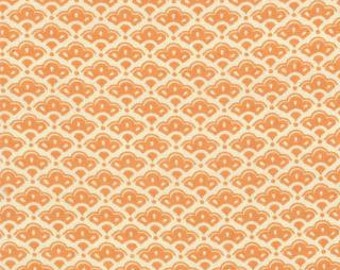 1 yard of Honeysweet Cobblestones Persimmon by Fig Tree Quilts for Moda