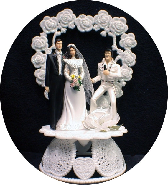 elvis wedding cake topper elvis king las vegas wedding cake by 14010