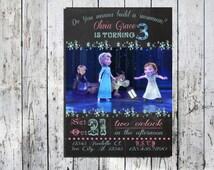 Printable Frozen Little Invitation