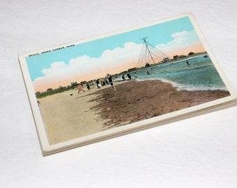 25 Vintage Massachusetts Postcards Blank - Travel Themed Wedding Guestbook