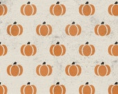 Harvest Pumpkin Furniture and Craft Stencil for DIY Decor