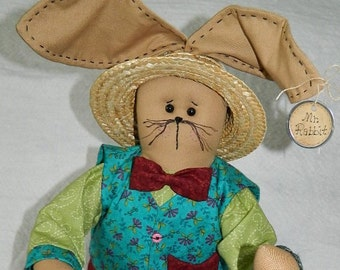 "Easter Bunny ~ Mr. Rabbit ~ 22"" Tall"