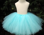 Soft Aqua Child Teen Adult Tutu