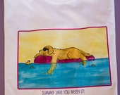 Golden Retriever Summer Like you Mean it T shirt