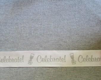"Celebrate Wire Ribbon... 1.5"" X 12 Feet"