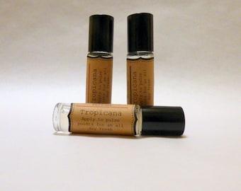 Herbal Perfume Oil---Tropicana-----Roll On Perfume Oil