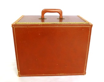 Vintage REPURPOSED Legal FILE CARRIER