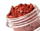 SALE CHERRY - Red Eyeshadow Mineral Makeup - Pure & Natural Mineral Eye Color Pigment - Noella Beauty Cosmetics