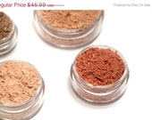 SALE Mineral Makeup  - Get Started Kit - PREMIUM SET - Personalized Pure & Natural Mineral Cosmetics