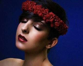Floral crown • bridal crown • floral wreath • wedding accesories
