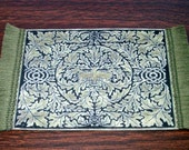 Greenman Rug, Dollhouse Miniature 1/12 Scale, Hand Made in the USA