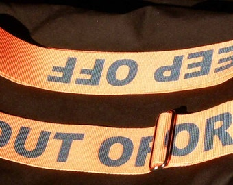 Keep Off / Out of Order Guitar Strap
