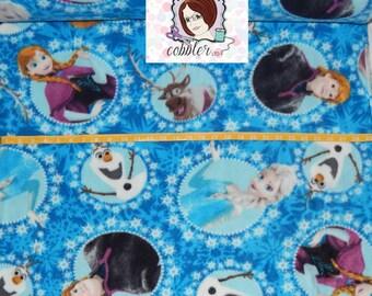 Springs Creative Frozen FLEECE Fabric - Elsa, Ana, Kristoff, Sven, and Olaf Fleece Fabric