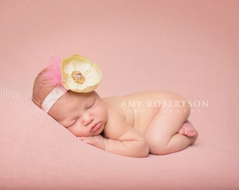The LITTLE MISS PRETTY Headband - Preemie to Adult Sizes Available