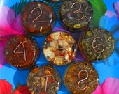 Numerology Orgonite - with Number Specific Stones and Herbs - Choose Your Number!