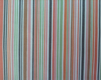 Cotton Fabric - Garden Party by Jane Dixon Patt 5374 -Stripes - 4 yards