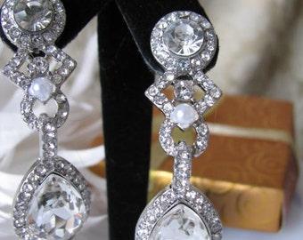 bridesmaid gift, bridal earrings, bridal jewelry, wedding jewelry, bridesmaid jewelry, bridesmaid earrings, shower gift, wedding earrings,