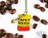 Cafe Bustelo Espresso Coffee Caffeine Addict Necklace