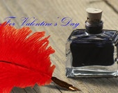 Love Letters Quill Set