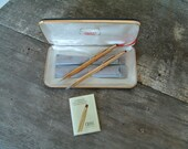Cross Pen and Pencil set from the 70's - excellent shape! Free Shipping!