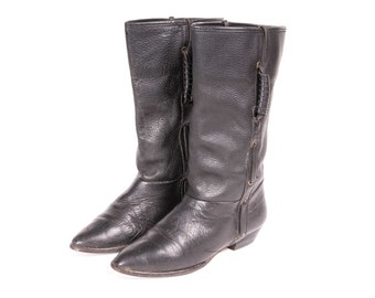 Short  Black Boot Women's Size 6