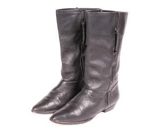 Short  Black Boot Women's Size 6