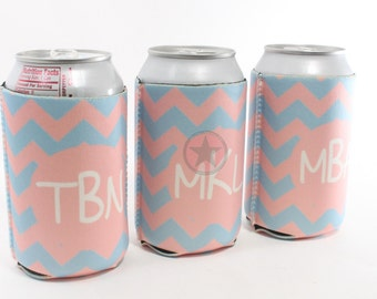 PERSONALIZED BRIDESMAID GIFTS-Wedding Favors-Wedding Gifts- Beer Can Insulators- Great Gifts for the Wedding Party-Great Christmas Gifts