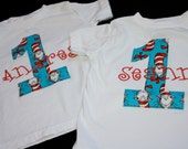 Customized Dr. Seuss Cat in the Hat Birthday shirt - Dr. Seuss Party