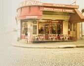 SALE: 25% Off Paris photography, Paris art, Petit Dejeuner, 8x10
