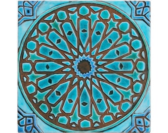 marokkanische fliesen etsy. Black Bedroom Furniture Sets. Home Design Ideas