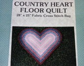 1986 Country Heart Floor Quilt Pattern