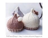 Baby's Tip Top Tassel Hat - Crochet Pattern - Instant Download Pdf