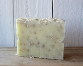 Peppermint Oatmeal Exfoliating Cold Process Soap