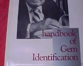 Handbook of Gem Identification 12th ed 4th pntg tight like new by Liddicoat ISBN 0 87311 021 8 NOS new vintage 93'