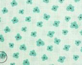 Bluebird Park Magnolia in Fountain Blue, Kate and Birdie Paper Co., 100% Cotton, Moda Fabrics, 13106 11