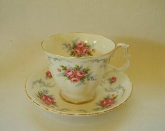 TEACUP, Vintage Royal Albert TRANQUILITY Bone China Teacup