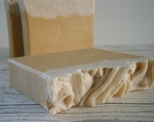 Pumpkin Pie Spice Goat's Milk Soap with silk - great autumn scent