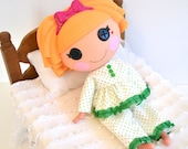 Lalaloopsy Doll - Sweet Dreams Pajama Set in Kelly Green