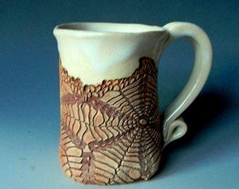 Spider Web Lace-Impressed 12oz. Mug
