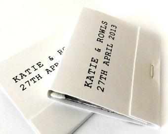 150 Custom Matchbooks - Printed, 30-Strike