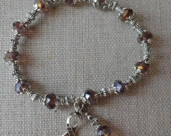 009 Hodgkin's Lymphoma Awareness Bracelet