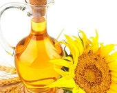 4 oz. ORGANIC Sunflower Oil: High Oleic - Natural, Pure, Fresh
