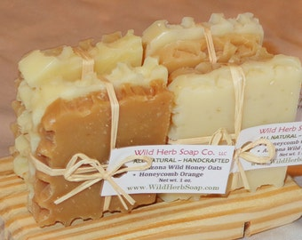 15 SHOWER FAVORS - Natural Honey Soap Sets -ADORABLE- Non Edible, Unique Treat(Rustic Themes, Modern, Elegant, Casual) baby & bridal showers