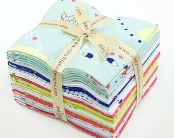 Enchant by Cinderberry Stitches for Riley Blake - Fat Quarter Bundle of Complete Collection