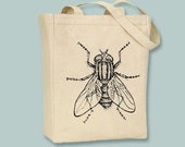 Fabulous Vintage House Fly ICanvas Tote -- Selection of  sizes available
