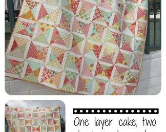 Maybellene Quilt Pattern--precut friendly